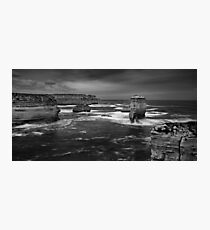 Land and Sea Photographic Print