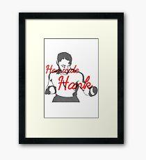 Homicide Hank - Henry Armstrong Framed Print