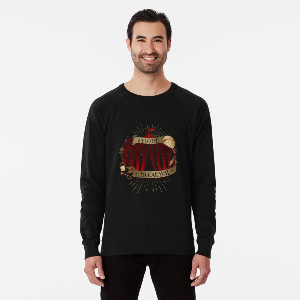 Willkommen bei Caraval Leichter Pullover