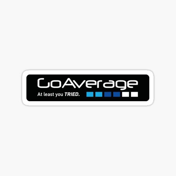 Go Average Sticker