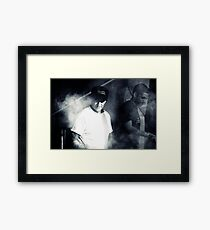 Cooking up a storm Framed Print