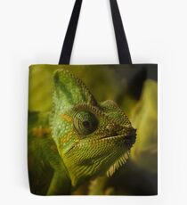 Funny pair of the chameleons. Amusing animal glance Tote Bag