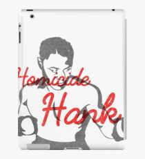Homicide Hank - Henry Armstrong iPad Case/Skin