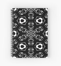 Black and White #9 by Julie Everhart Spiral Notebook