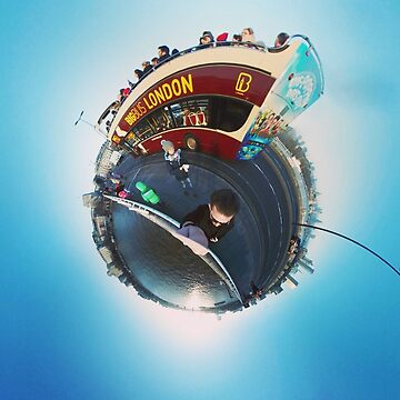 Small Planets - Big Bus London by TommyOne