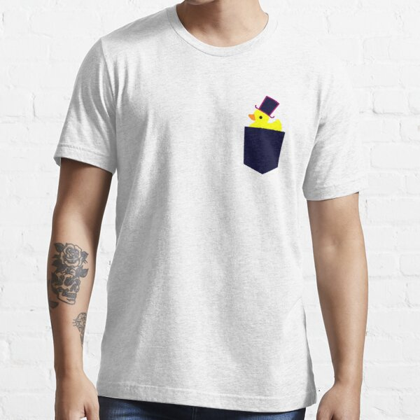 fancy rubber duck in your pocket Essential T-Shirt