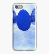 Halo angel egg iPhone Case/Skin