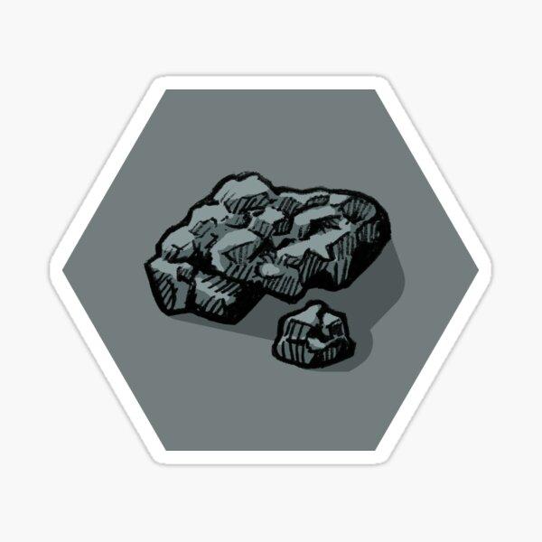 Ore Hex Sticker