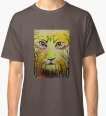 Beautiful Mighty Lion Face Painting Classic T-Shirt