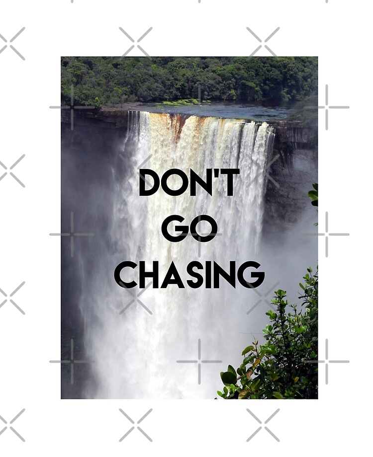 Guyana Kaieteur Falls Don T Go Chasing Waterfalls Ipad Case Skin By Ravishdesigns Redbubble