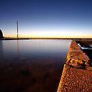 Mona Vale Pool First Light by Sacha Fernandez