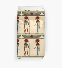 Ra and Sekhmet Duvet Cover
