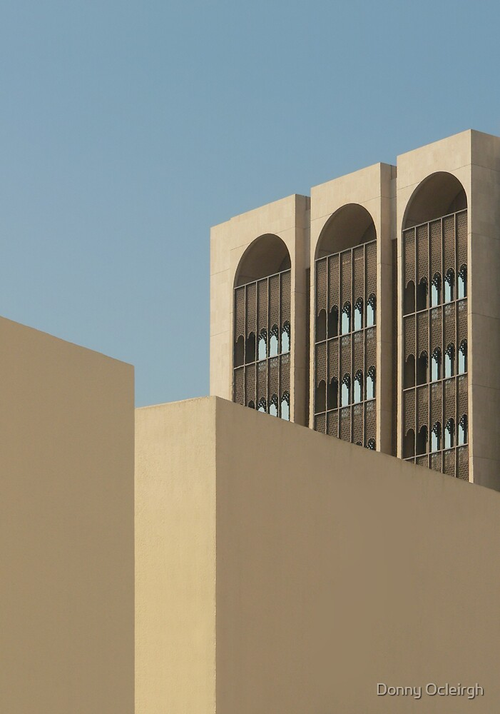 Beautiful Arab Building by Donny Ocleirgh