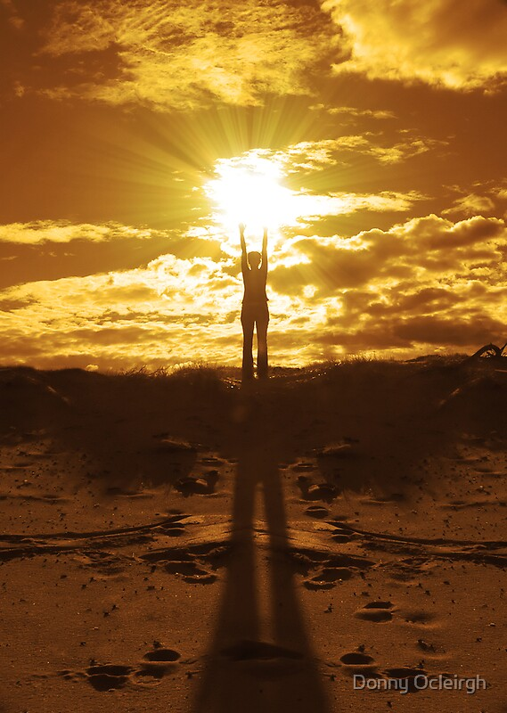 Quot Woman Holding The Sun Between Her Hands Quot By Donny