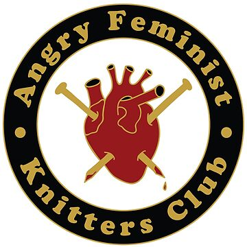 Angry Feminist Knitters Club by bombasine