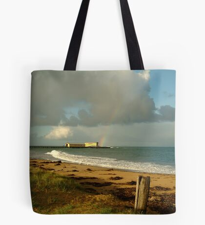 Queenscliff Beach Tote Bag