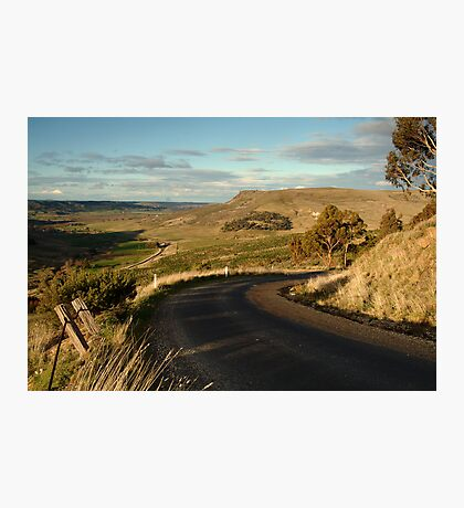 The Bluff Rowsely Photographic Print