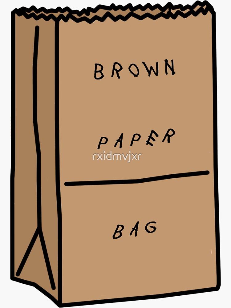 Migos Brown Paper Bag by rxidmvjxr