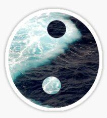 Yin Yang Oceans Sticker