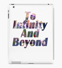"Buzz ""To Infinity And Beyond"" iPad Case/Skin"