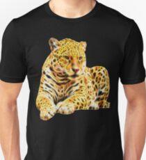 Fractal Jaguar Unisex T-Shirt