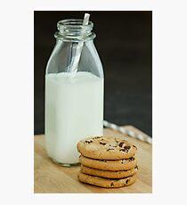 Cookies & Milk Photographic Print