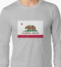 California Forever Flag Long Sleeve T-Shirt