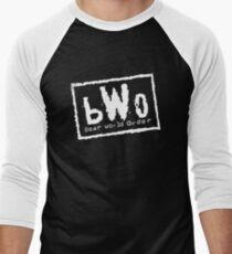 bWo - Bear World Order  Men's Baseball ¾ T-Shirt