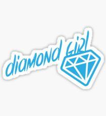 Diamond Girl Sticker