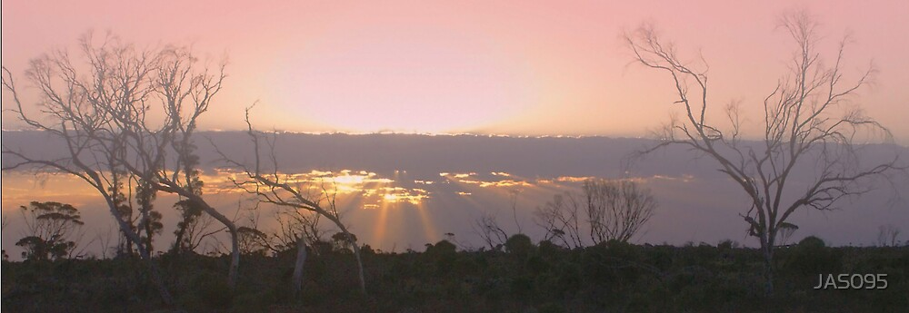 Nullarbor Sunset by JAS095