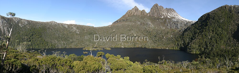 Cradle Mountain over Dove Lake by David Burren
