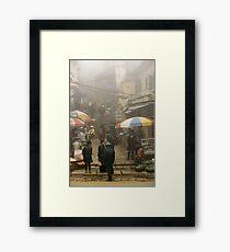 Sapa fog Framed Print
