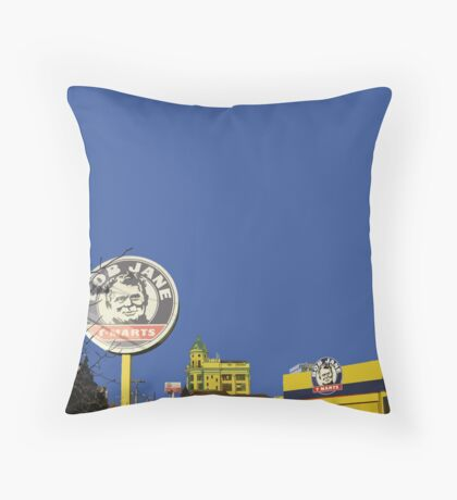 bob jane Throw Pillow