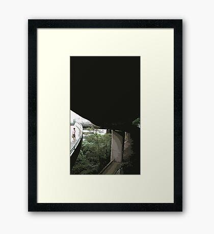 undebridge Framed Print
