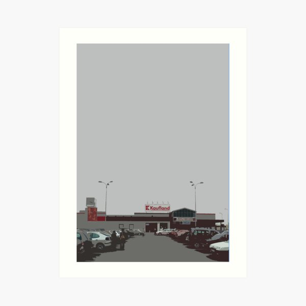 kaufland Art Print