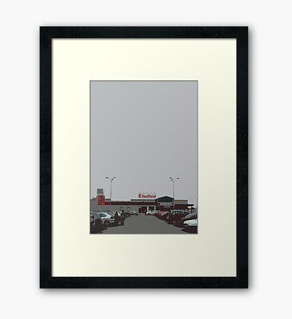 kaufland Framed Print