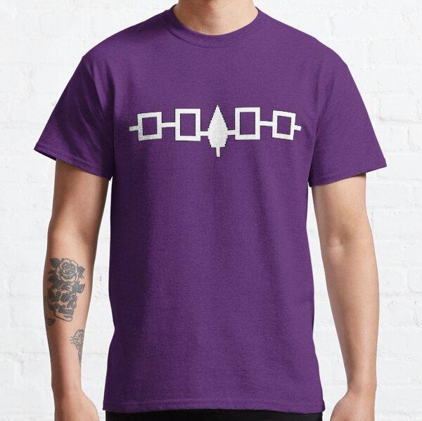 Impression de drapeau iroquois T-shirt classique