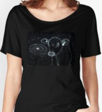 Galactic Cow Women's Relaxed Fit T-Shirt