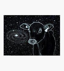 Galactic Cow Photographic Print