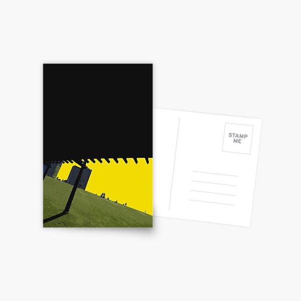 green hill Postcard