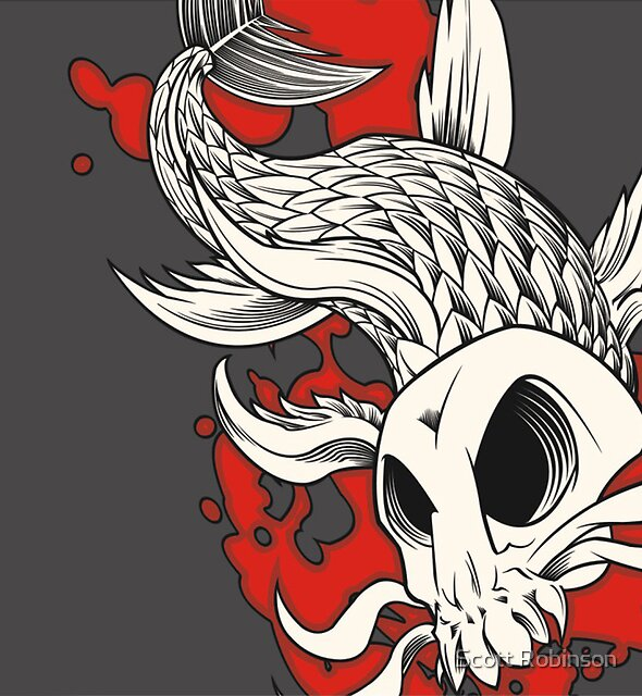 Skull Khoi 2 - Blood in the Water by Scott Robinson