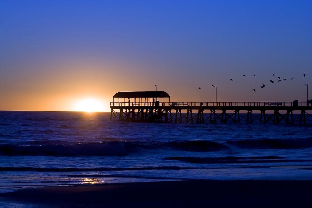 Henley Beach, South Australia by Peter Ede