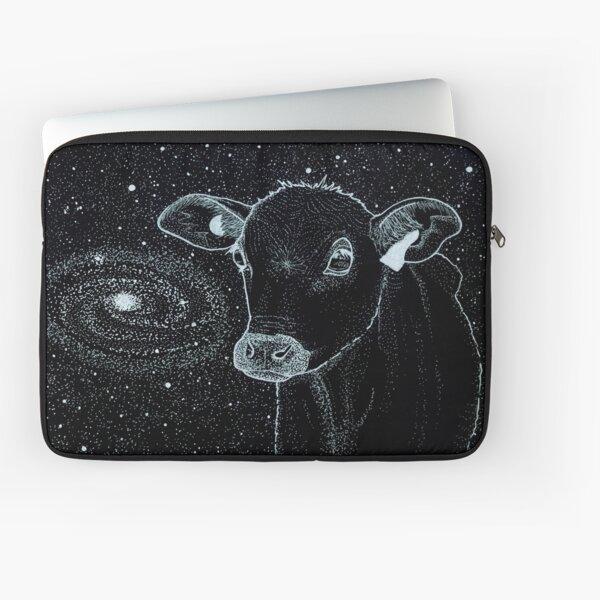 Galactic Cow Laptop Sleeve