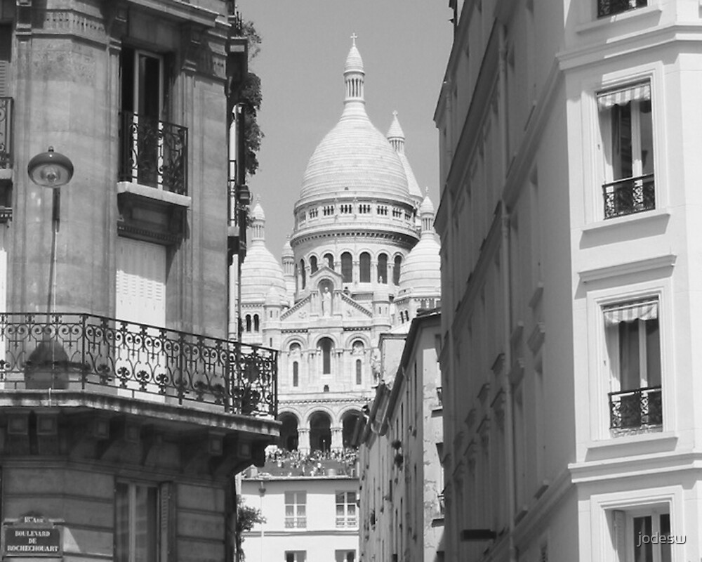 Sacre Couer - Paris by Jodi Webb