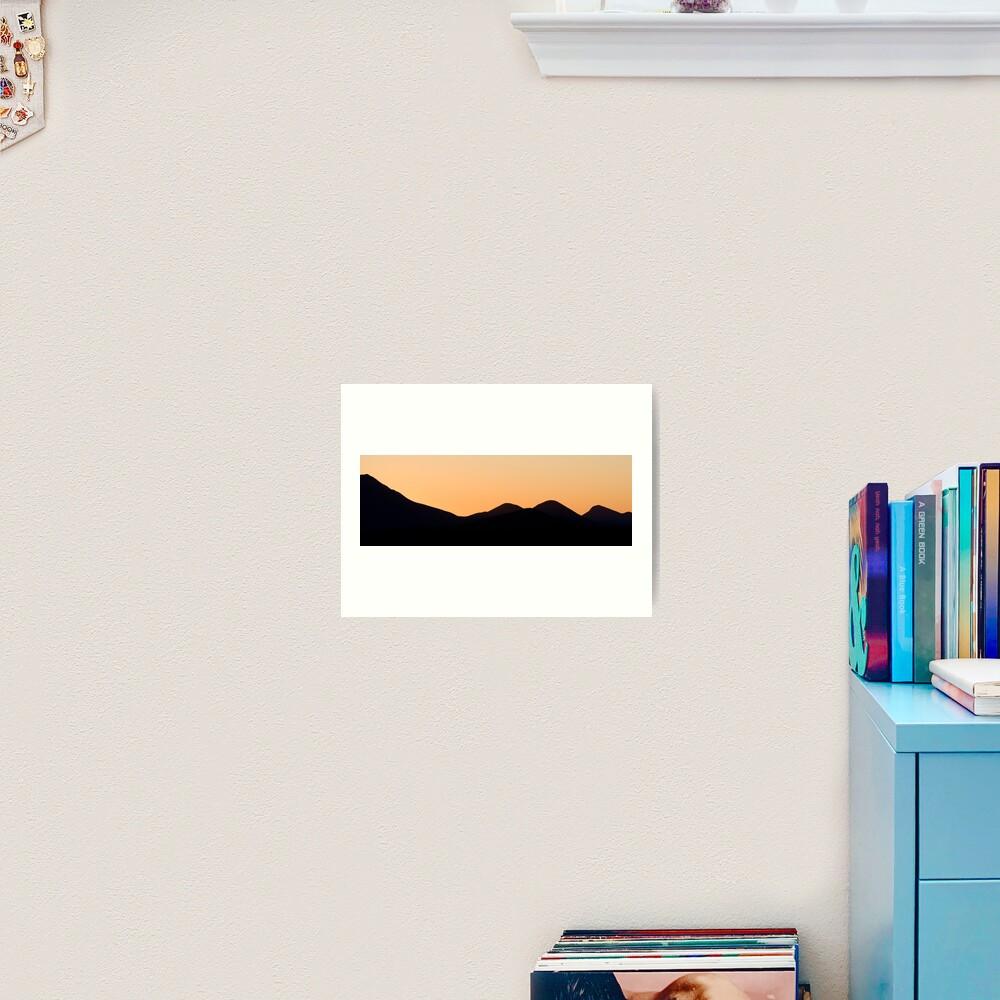 Stirling Range sunset Art Print