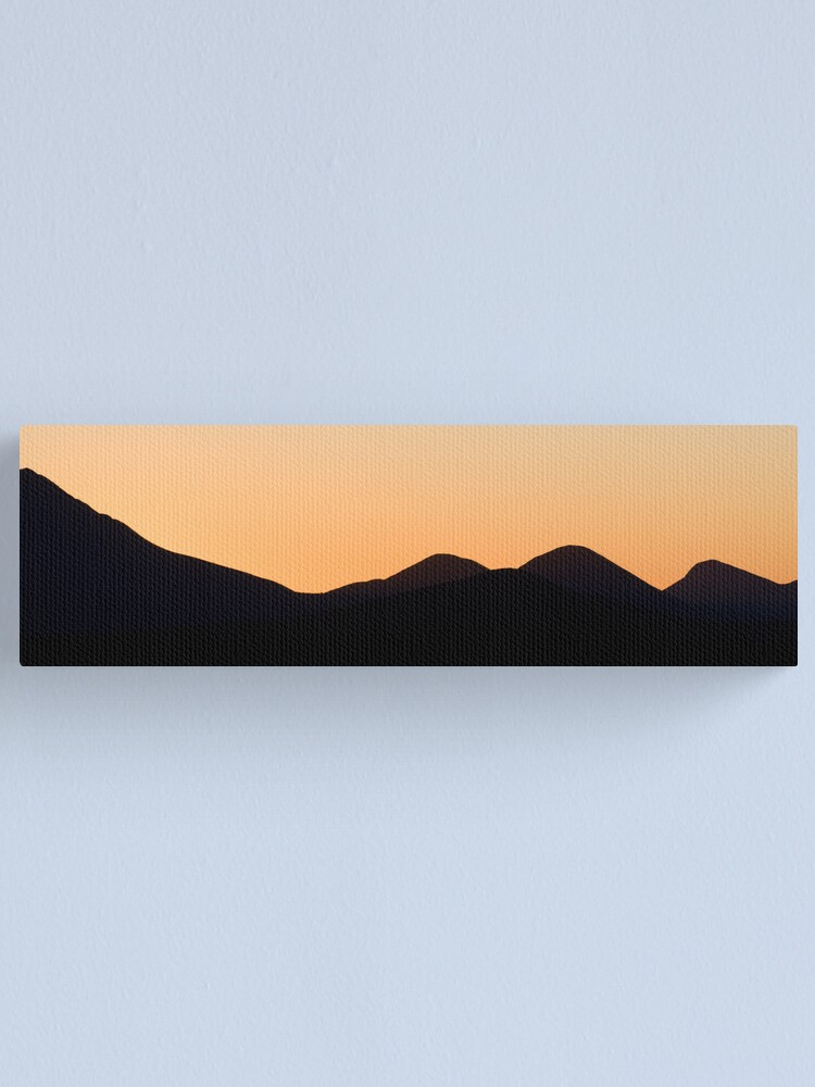 Alternate view of Stirling Range sunset Canvas Print
