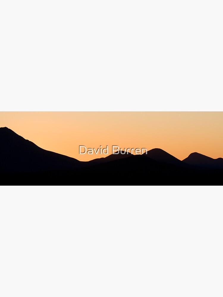 Stirling Range sunset by DavidBurren