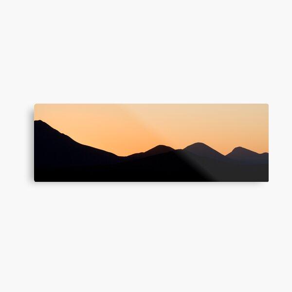 Stirling Range sunset Metal Print