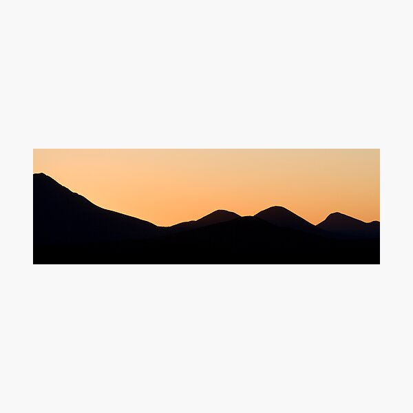 Stirling Range sunset Photographic Print
