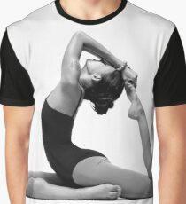 yoga woman Graphic T-Shirt
